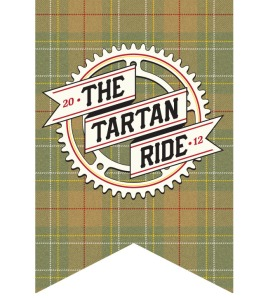 The badge of the The Tartan Ride 2012