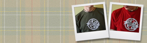 shop for Tartan Ride tee shirts online